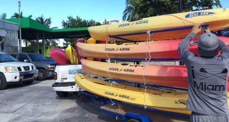 Kayak & Stand Up Paddle Delivery Service Miami