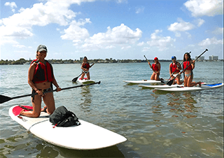 Paddle Board Lessons Miami Beach Stand Up Paddle Classes Biscayne Bay