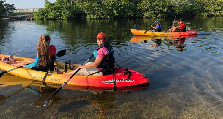 Deering Estate kayaking rental
