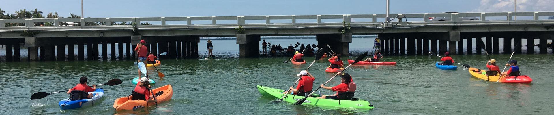 Biscayne Bay Kayak Paddleboard Rentals Miami