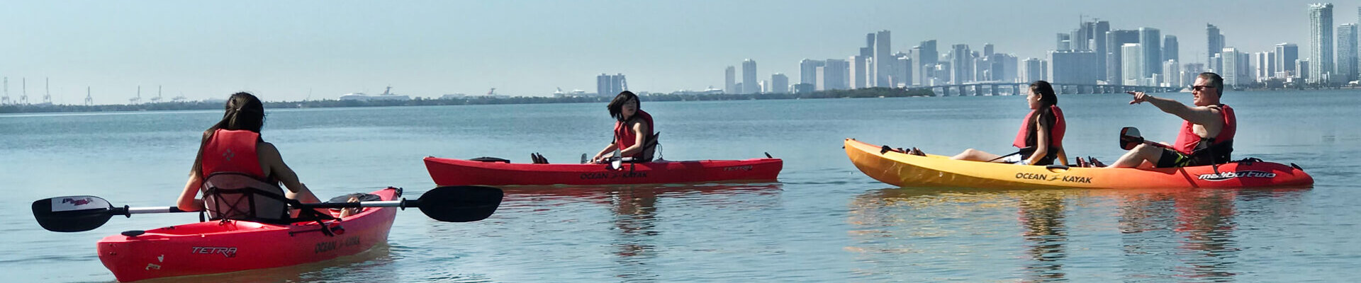 Kayak Rental Miami Beach Biscayne Bay