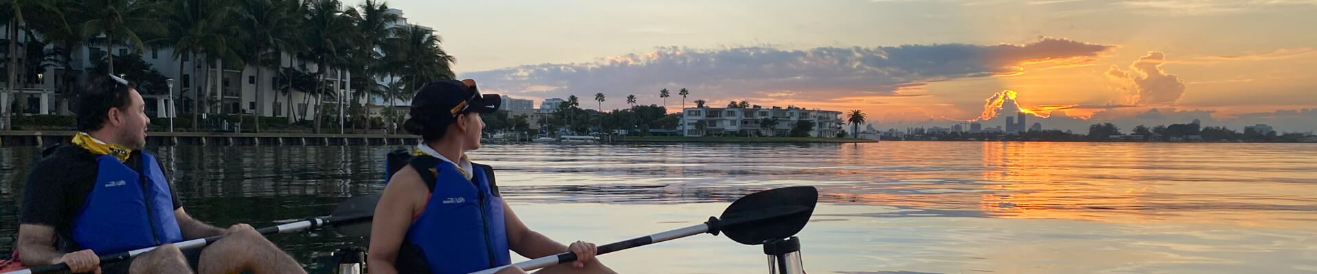 Sunday Sunrise Kayak SUP Paddle