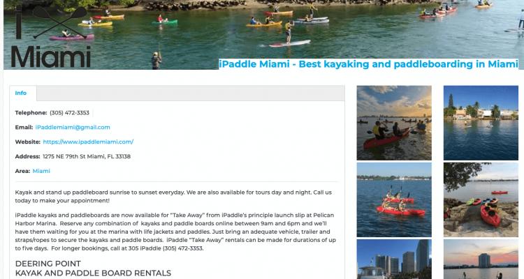 Best Kayaking Paddleboarding in Miami