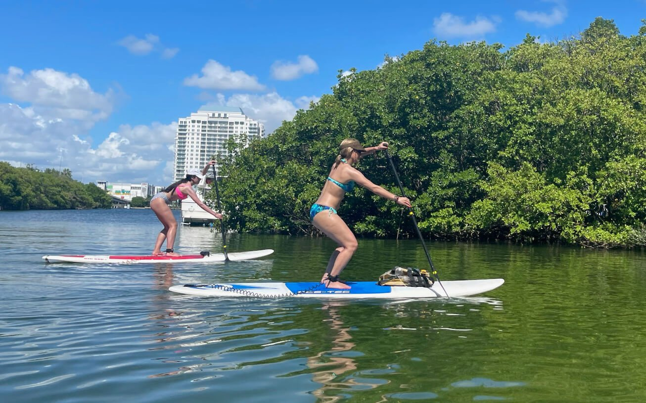 Standup Paddle Lessons Miami Beach